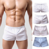 Fashion Men Shorts Home Pants Cotton Breathe Underwear Sport Men's Boxers Briefs
