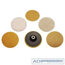 BGS 8592 - Meulage et Jeu de disques de polissage, 125 mm