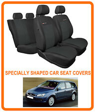 FORD FOCUS TAILORED SEAT COVERS   Mk1 Mk2  ( 1998-2010 )  - FULL SET grey1