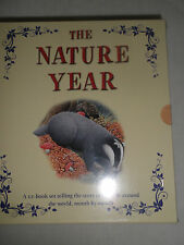 THE NATURE YEAR,BR NEW 12 PART BOOK-SET OF WILDLIFE AROUND THE WORLD