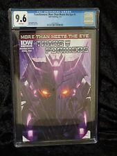 Transformers More Than Meets The Eye #7 CGC 9.6 Kultur Cover B