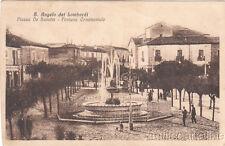 S. ANGELO DEI LOMBARDI - Fontana Ornamentale - Piazza De Sanctis