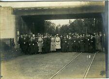 PAYS-BAS ROTTERDAM Excursion à Vinsehoten 1916 Photo HOLLAND Nederland