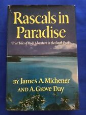 RASCALS IN PARADISE - FIRST EDITON BY JAMES A. MICHENER (WITH) A. GROVE DAY