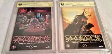 CBCS REDNECK #1 Second print and # 2 First Printing with sign/comments by writer