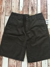 New Men's 28 OLD NAVY Khaki Shorts Loose Fit Brown Cotton W28L11 Zipfly