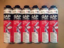 6 Cans of Seal Pro Gap & Crack Fireblock Expanding Polyurethane Foam Sealant