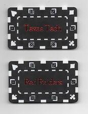 Texas Tech  Poker Card Guard