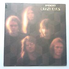 Poco - Crazy Eyes Vinyl LP US 1st 1973 Tex Sleeve EX+/EX+