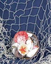 DEKO Fischernetz Beige 100x150cm mit 4 Schwimmern 11431