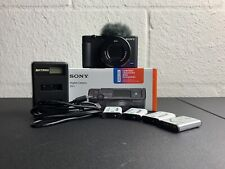 Sony ZV-1 Camera With Extra Batteries for Content Creators Vlogging, Flip Screen