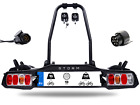 Pieghevole Portabici da gancio di traino per 2 bici DGH System STORM 2 30 kg
