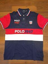 Polo Ralph Lauren Mens Slim Fit L Polo Shirt - Polo 1967 Shield
