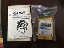 Pro Save Exide battery energy saver, 12V, model II, NOS, free shipping, warranty