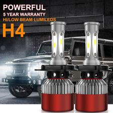 H4 Plug Car LED Headlight Kit Replace Bulbs Lamp Hi/Lo Beam 1050W 157500LM 6000K