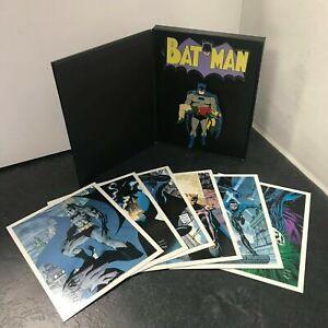 Batman Pin Badge & Fridge Magnet + Postcards NEW Collectors Edition DC Universe