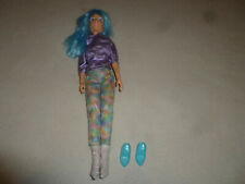 1986 Jem And The Holograms Aja Doll Outfit Shoes Hasbro Vintage Figure Toy Rare