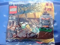 Lego Lord Of The Rings 30210 Frodo With Cooking Corner Polybag New & Sealed Rare