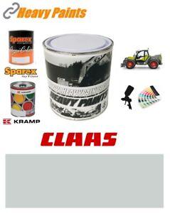 Claas Telehandler Light Grey Paint High Endurance Enamel Paint 1 Litre Tin