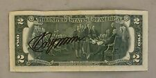Vladimir Putin Russia President Signed US Currency 2$ Bill Autographed RUS COA
