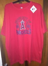 Nwt Los Angeles Angels of Anaheim Baseball T-Shirt Mens Size Xlt and Red.