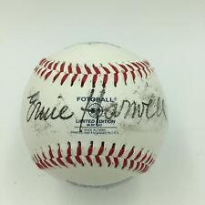 Rare Ernie Harwell Signed 1940-2000 Retirement Commemorative Baseball JSA COA