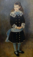 """perfect 24x36 oil painting handpainted on canvas""""a girl""""@14443"""