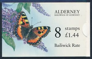 1997 ALDERNEY £1.44 BOOKLET FINE MINT MNH