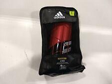 Adidas X Pro Shin Guards, Red/Orange, Large