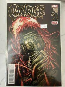 Carnage #1 - 16 2015 Series Full Run NM 16 Books Hot!!