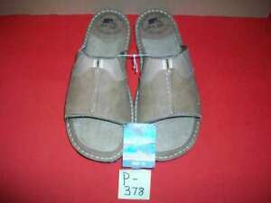MARGARITAVILLE CUSHIONED SLIDE SANDALS SLIP-ON SIZE 12 MEN'S BRAND NEW WITH TAGS