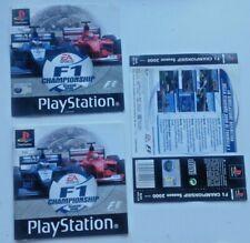 PLAYSTATION PS1 PSX F1 CHAMPIONSHIP SEASON 2000 RICAMBI ORIGINALI