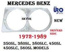 Left Headlight Cover Door Bezel Lens For MERCEDES R107 380SL 450SL 450SLC 560SL