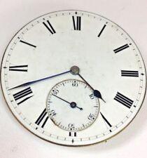 Antico Orologio da taschino movimento intorno al 1900 Dial & mani