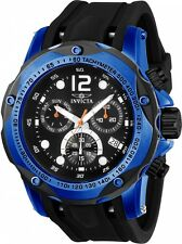 Invicta Men's 52mm Speedway Chronograph Polyurethane Strap Watch w/ 3-Slot MOP