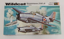 Revell 1/32 F4F-4 Wildcat WWII Fighter *Vintage* Plastic Model Kit