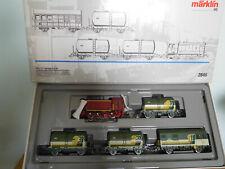 MARKLIN HO réf 2846 SET TRAIN DE NETTOYAGE DE LA VOIE CFL.