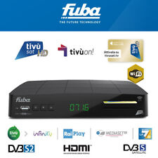 Fuba ODE716 WiFi HD Decoder + Tivusat HD SmartCard PRE-ACTIVATED