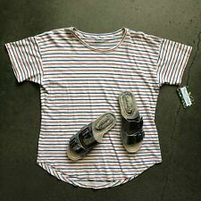 Madewell Cotton Striped Tee Size Large