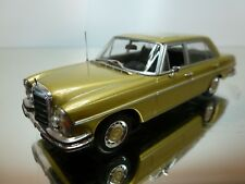 MINICHAMPS MERCEDES-BENZ 300 SEL - GOLD MET 1:43 - EXCELLENT CONDITION - 12