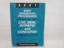 2001 BODY DIAGNOSTIC PROCEDURES LHS, 300M, INTRPID, AND CONCORDE 81-699-01043