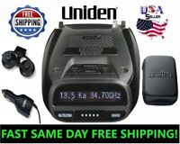 Uniden Radar Detector Laser DFR7 GPS Super Long Range Police Camera Mount Cobra
