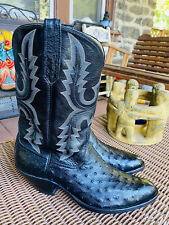 Stunning Rios Of Mercedes Full Quill Ostrich Cowboy Boots