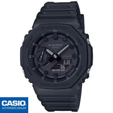 CASIO GA-2100-1A1ER⎪GA-2100-1A1⎪ORIGINAL⎪G-SHOCK Classic⎪NEGRO⎪CARBON CORE GUARD