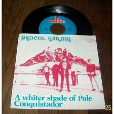 PROCOL HARUM - A Whiter Shade Of Pale Dutch PS 7' Psych Prog