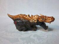 "2013 Hasbro Rolling Dragon Transformer 2013 Gold 8"" Toy"