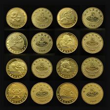 China 1 yuan 2008. Beijing Olympic Games commemorative coins. 1 set of 8 coins.