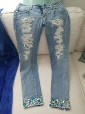 MET in Jeans Diamond Limited Edition K-FIT Low waist skinny jeans 27
