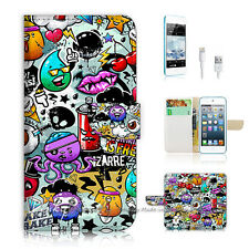 ( For iPod 5 / itouch 5 ) Flip Case Cover! P0880 Cartoon