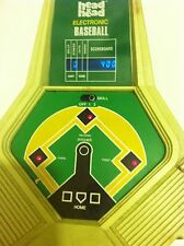Head to Head electronic Baseball Game 1970 WORKS!